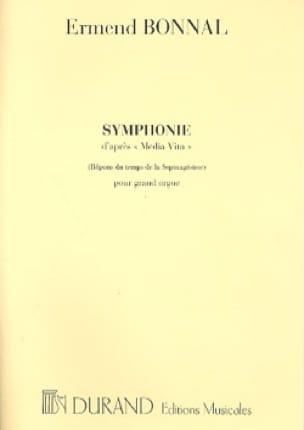 Symphonie - Ermend Bonnal - Partition - Orgue - laflutedepan.com
