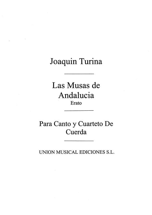 Erato Op. 93-6. Archive - TURINA - Partition - laflutedepan.com