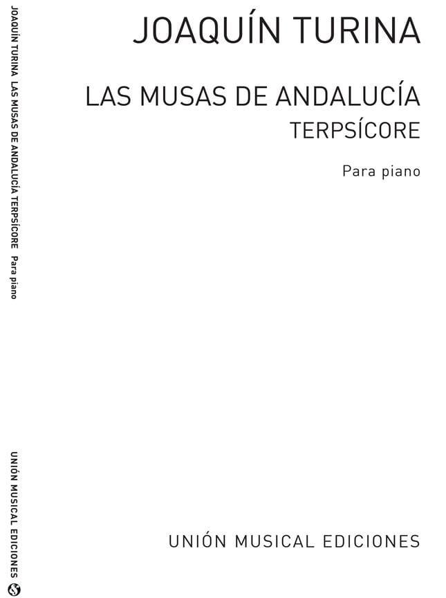 Terpsicore Opus 93-8 - TURINA - Partition - Piano - laflutedepan.com