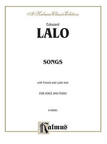 Mélodies - LALO - Partition - Mélodies - laflutedepan.com