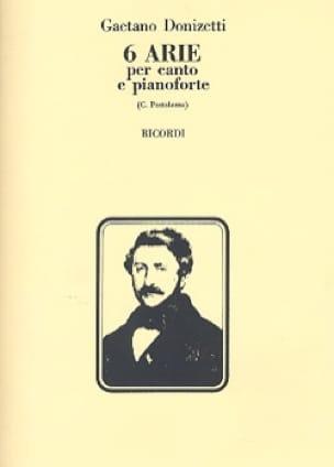 Gaetano Donizetti - 6 Arie - Partition - di-arezzo.es