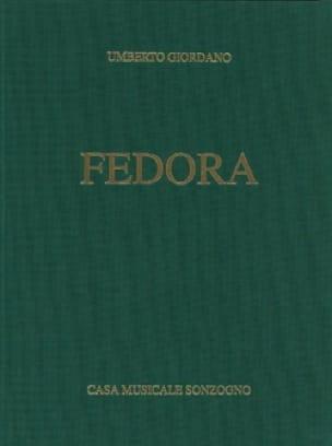 Umberto Giordano - Fedora - Partition - di-arezzo.com