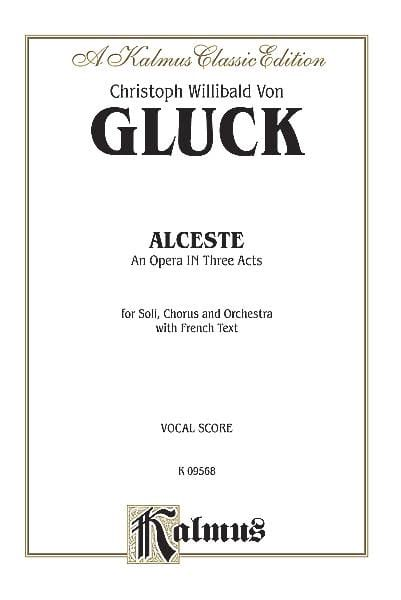 GLUCK - Alceste - Partition - di-arezzo.co.uk