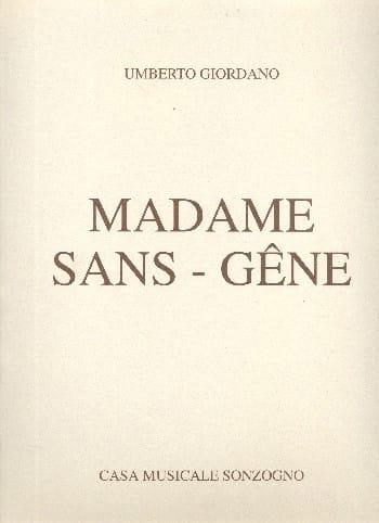 Umberto Giordano - Madame Sans-Gêne - Partition - di-arezzo.com