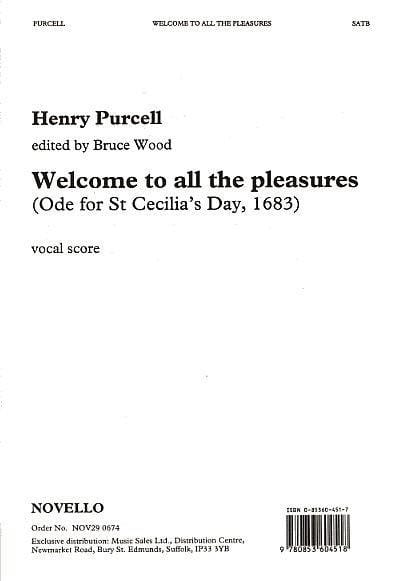 Henry Purcell - Welcome To All The Pleasures - Partition - di-arezzo.co.uk