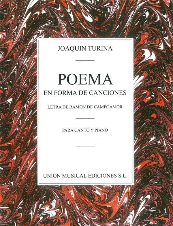 Poema En Forma de Canciones - TURINA - Partition - laflutedepan.com