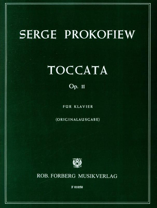 Sergei Prokofiev - Toccata Opus 11 Piano - Partition - di-arezzo.ch