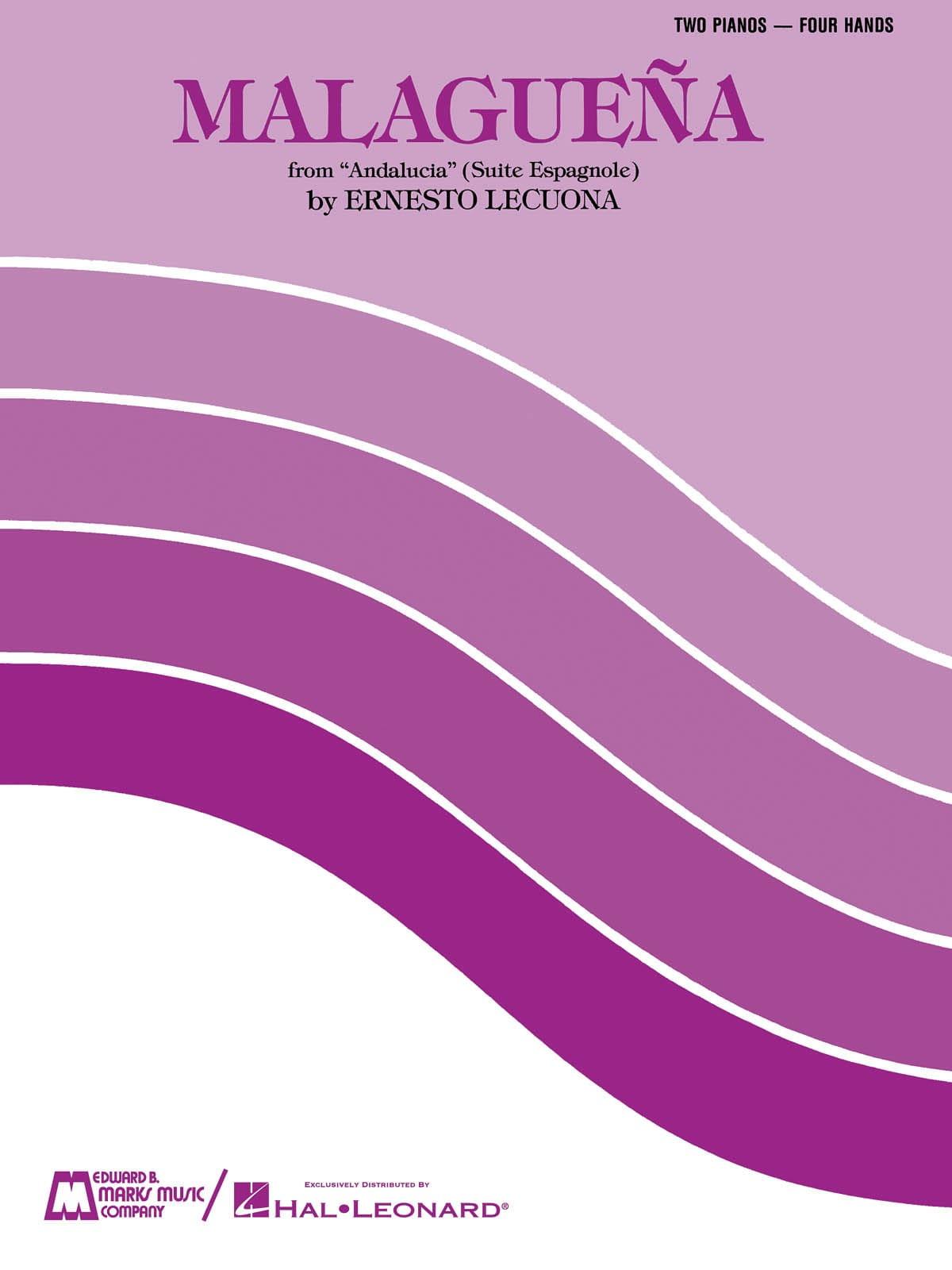 Malaguena. 2 Pianos - Ernesto Lecuona - Partition - laflutedepan.com