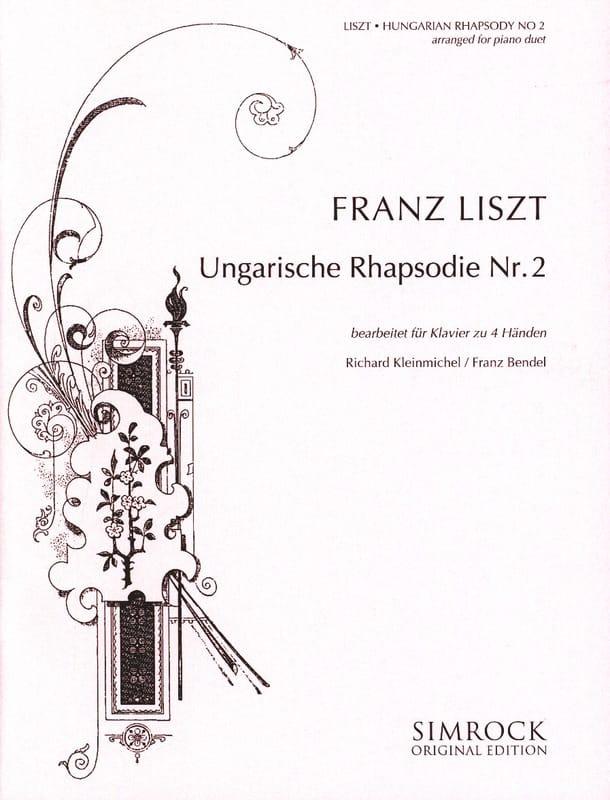 Rhapsodie Hongroise N°2. 4 Mains - LISZT - laflutedepan.com