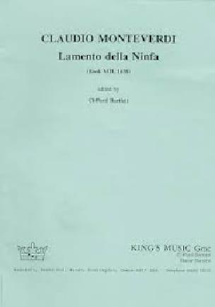 Claudio Monteverdi - Lamento Della Ninfa. Complete set - Partition - di-arezzo.co.uk