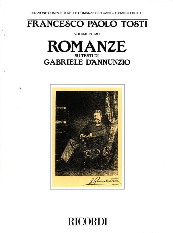 Francesco Paolo Tosti - Romanze Su Testi Di Gabriele d'Annunzio - Partition - di-arezzo.co.uk