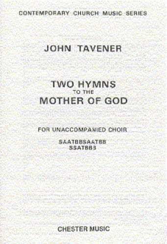 2 Hymns To The Mother Of God - John Tavener - laflutedepan.com