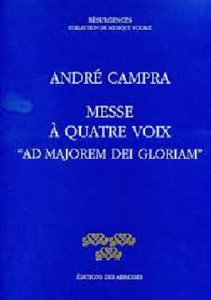 Messe Ad Majorem Dei Gloriam - CAMPRA - Partition - laflutedepan.com