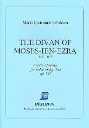 The Divan Of Moses-Ibn-Ezra Opus 207 ! - laflutedepan.com