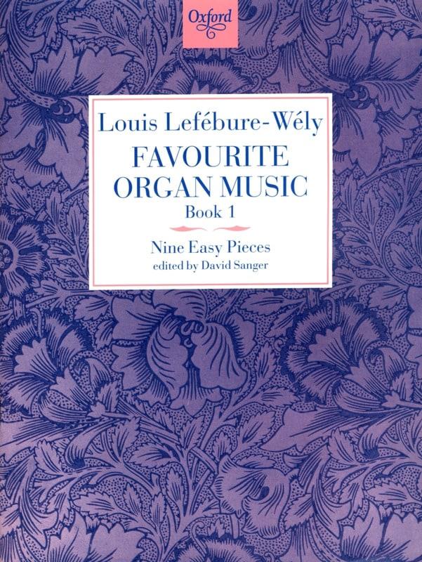 LEFÉBURE-WÉLY - Favorite Organ Music Volume 1 - Partition - di-arezzo.co.uk