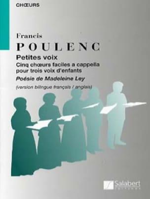 Petites Voix - POULENC - Partition - Chœur - laflutedepan.com