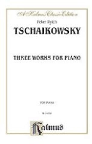 TCHAIKOWSKY - 3 Works - Partition - di-arezzo.co.uk