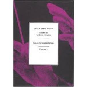 Songs For Countertenors Volume 1. - Partition - laflutedepan.com