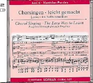 Passion selon Saint Matthieu BWV 244. 2 CD Soprano CHOEUR - laflutedepan.com