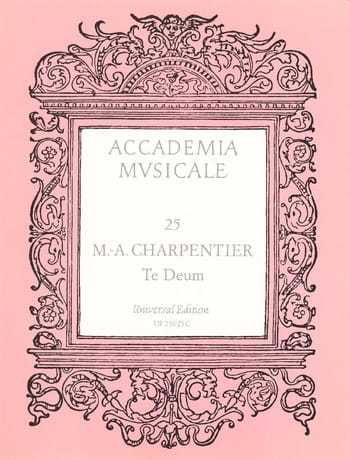 Te Deum H 146 - CHARPENTIER - Partition - Chœur - laflutedepan.com