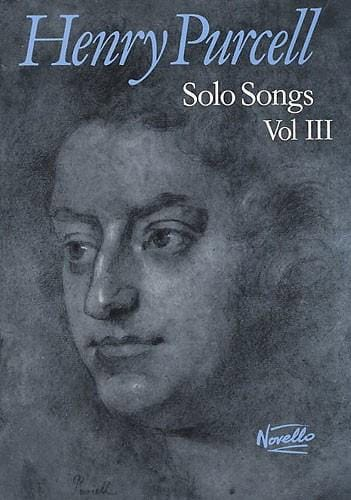 Henry Purcell - Solo Songs Volume 3 - Partition - di-arezzo.co.uk