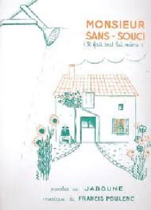 Francis Poulenc - Monsieur Sans Soucis, él mismo hace todo - Partition - di-arezzo.es