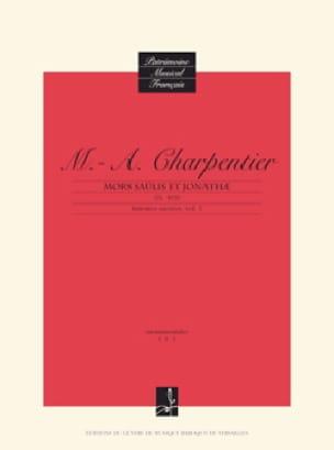 Mors Saülis et Jonathae H 403 - CHARPENTIER - laflutedepan.com