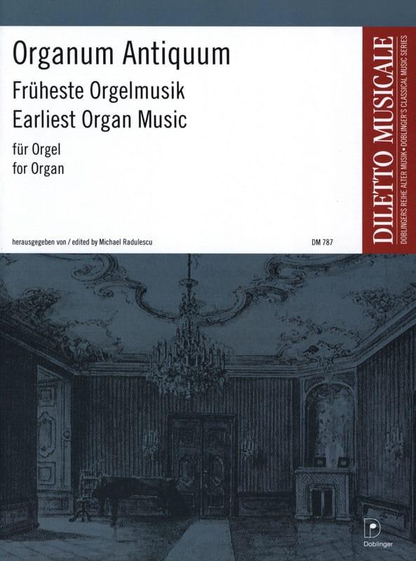 Organum Antiquum - Partition - Orgue - laflutedepan.com