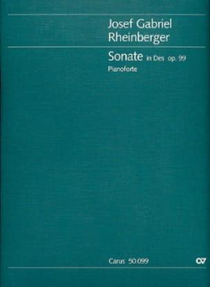 Sonate En Ré Bémol Majeur Op. 99 - RHEINBERGER - laflutedepan.com