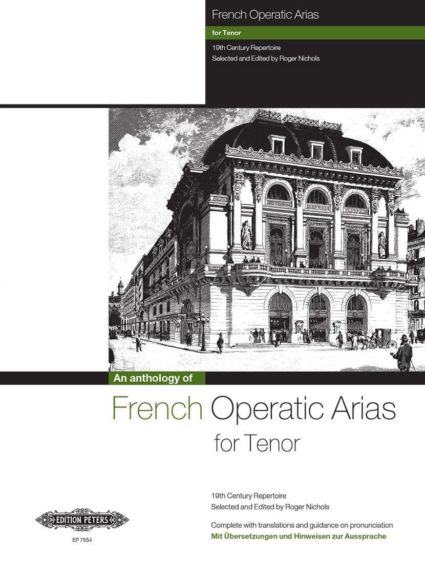 - French Operatic Arias Tenor - Partition - di-arezzo.com