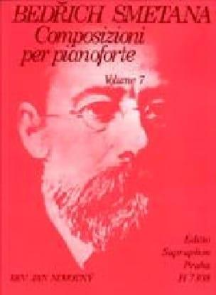 Bedrich Smetana - Composizioni Per Pianoforte Volume 7 - Partition - di-arezzo.com