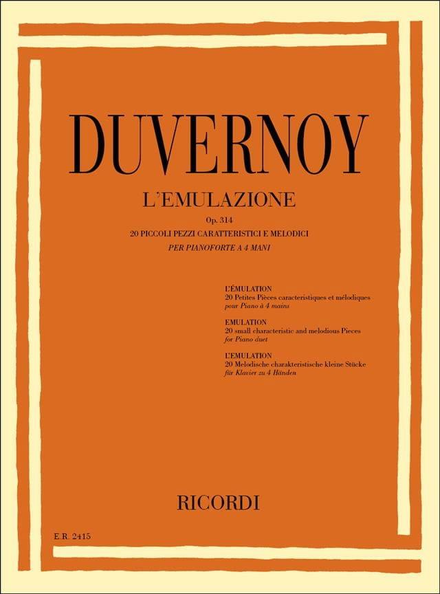 L' Emulazione Op. 314. 4 Mains - laflutedepan.com