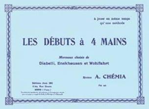 Les Débuts A 4 Mains - Partition - Piano - laflutedepan.com