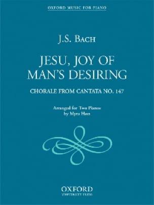 Jesu, Joy Of Man's Desiring. 2 Pianos. - BACH - laflutedepan.com