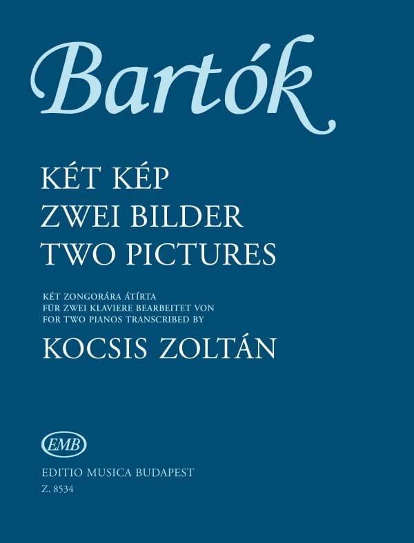 2 Pictures op.10 - 2 Pianos - BARTOK - Partition - laflutedepan.com