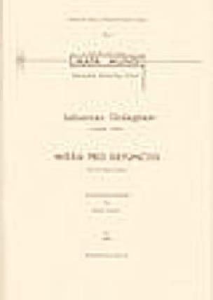 Missa Pro Defunctis - Johannes Ockeghem - Partition - laflutedepan.com