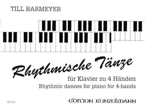 Rhythmische Tänze. 4 Mains - Barmeyer - Partition - laflutedepan.com