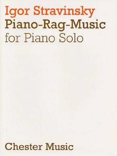 Piano Rag Music - Igor Stravinski - Partition - laflutedepan.com
