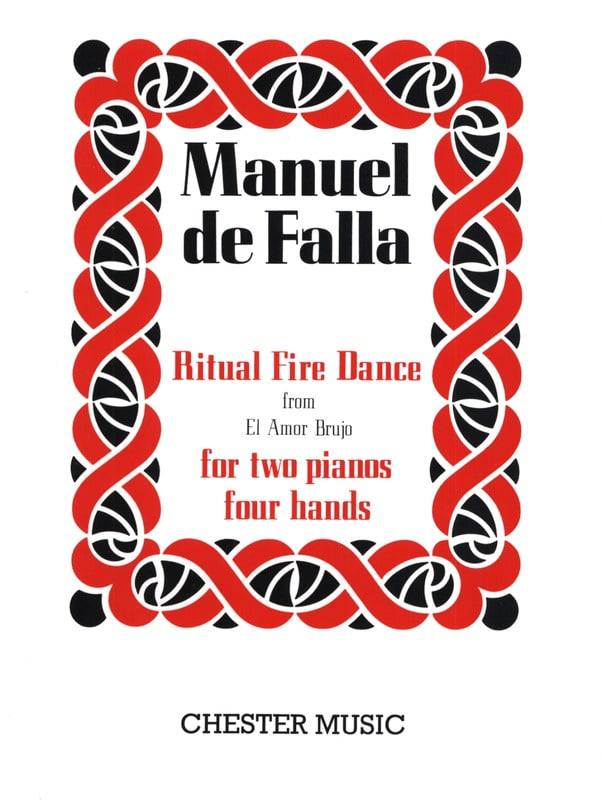 Ritual Fire Dance. 2 Pianos - DE FALLA - Partition - laflutedepan.com