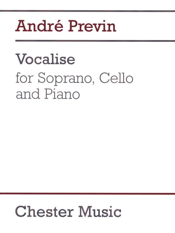 Vocalise - André Prévin - Partition - Violoncelle - laflutedepan.com