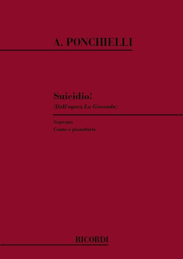 Suicidio. La Gioconda - Amilcar Ponchielli - laflutedepan.com