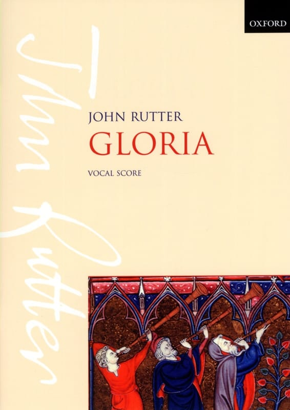 John Rutter - Gloria - Partition - di-arezzo.co.uk