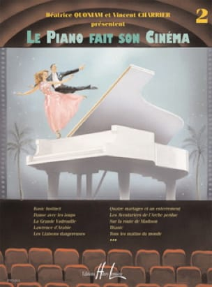 - The Piano Makes His Cinema. Volume 2 - Partition - di-arezzo.com