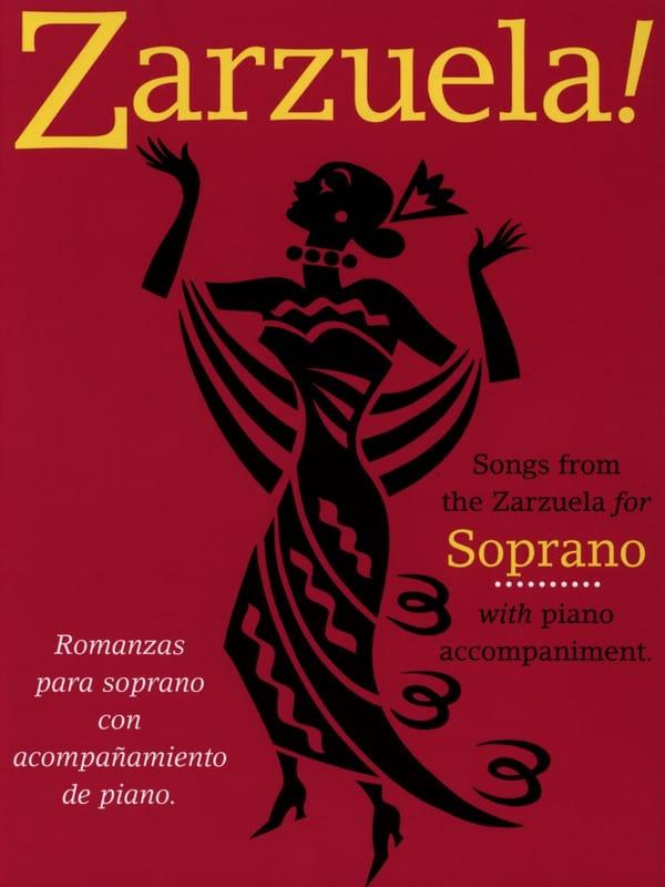 Zarzuela! Soprano - Partition - Opéras - laflutedepan.com