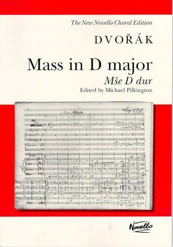 Messe En Ré Majeur Opus 86 - DVORAK - Partition - laflutedepan.com