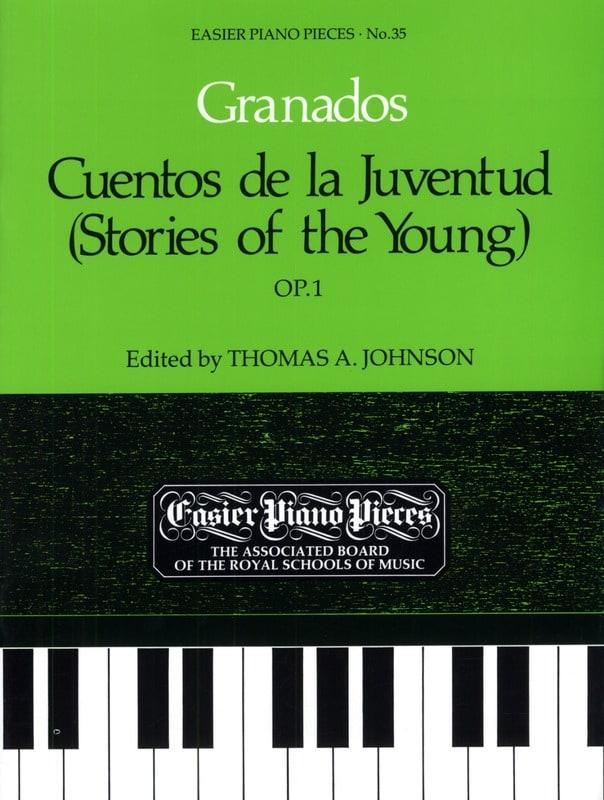 Cuentos de la Juventud Opus 1 - GRANADOS - laflutedepan.com