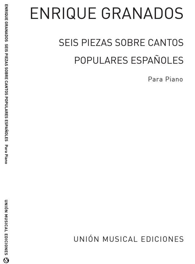 6 Piezas Sobre Cantos Populares Espanoles - laflutedepan.com