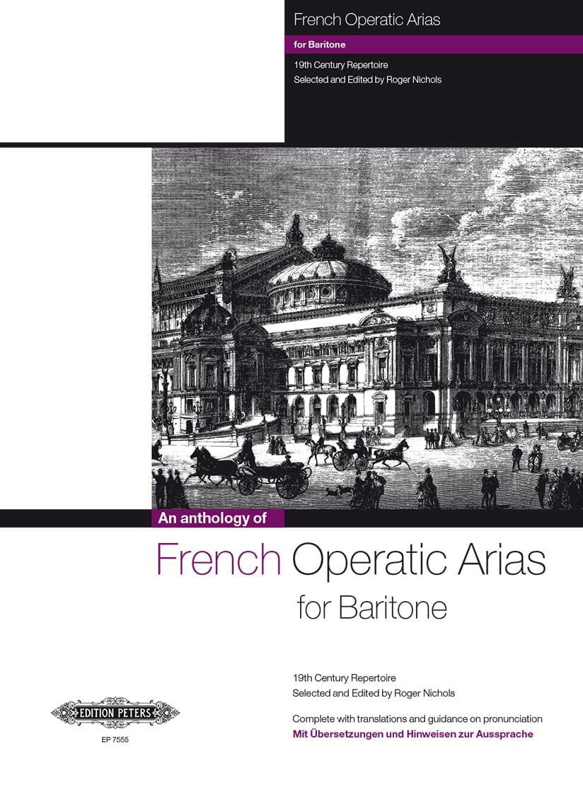 - French Operatic Arias Baritone - Partition - di-arezzo.co.uk