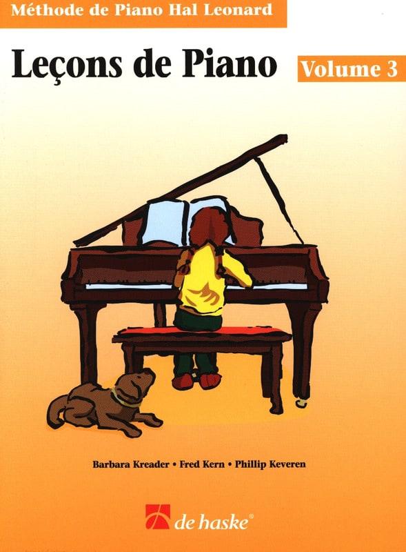 Leçons de Piano Volume 3 - laflutedepan.com