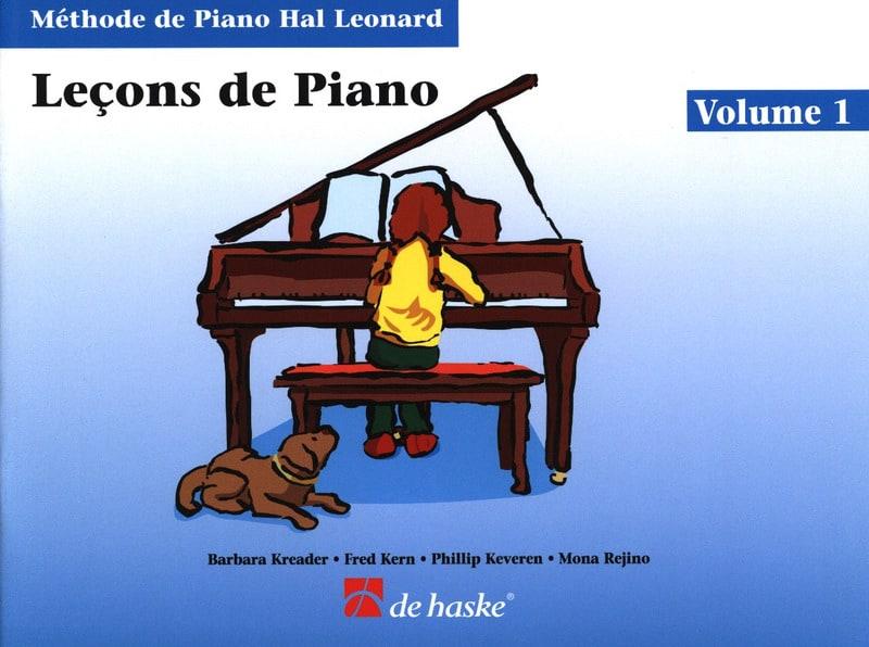 Kreader / Kern Jerome / Keveren / Rejino - Lecciones de piano Volumen 1 - Partition - di-arezzo.es